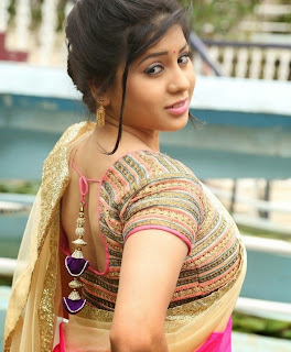 Hamida South Actress in Saree at Silk India Expo Beautiful Pics