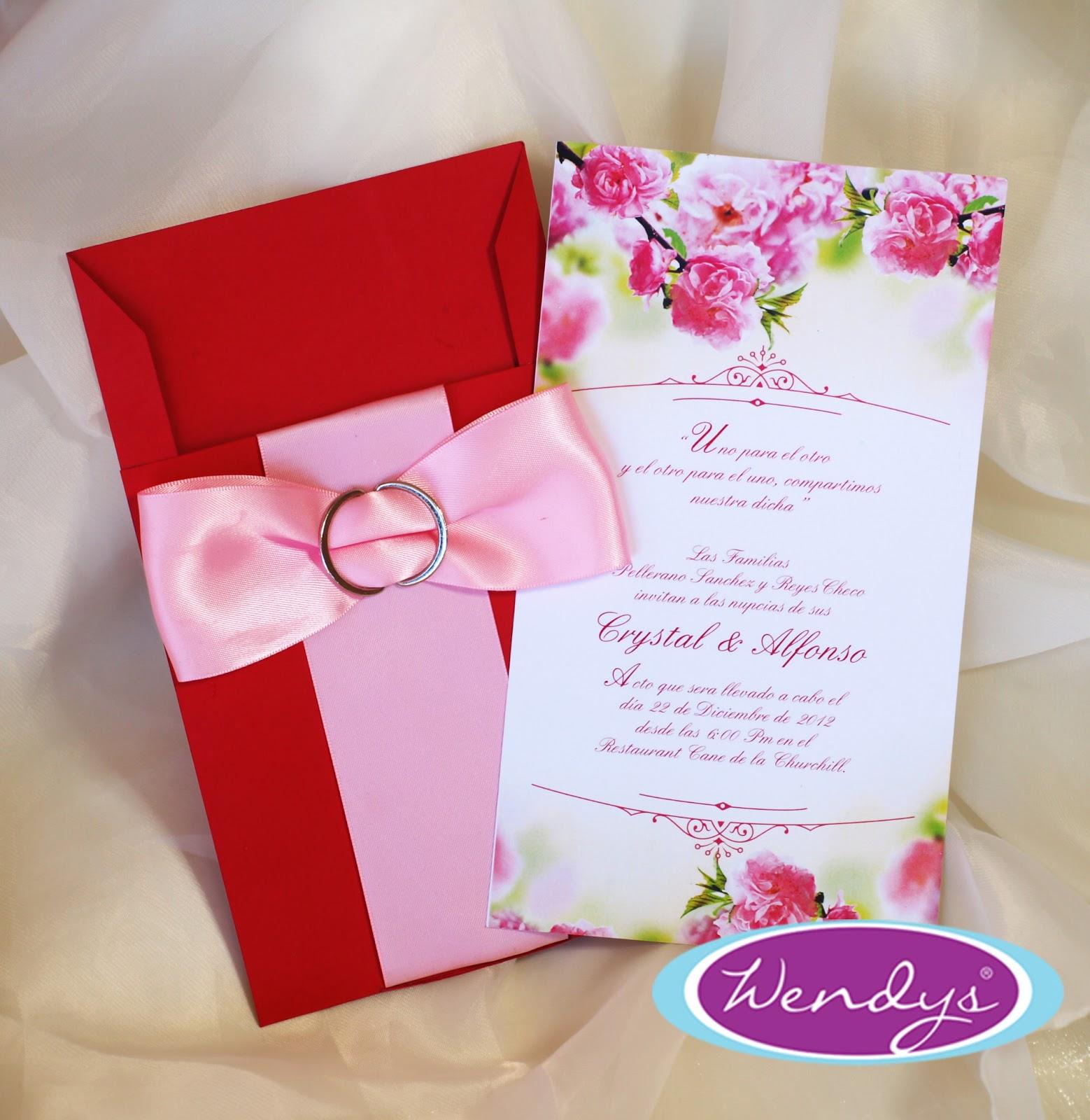 La tarjeteria, de Wendys, invitaciones de boda y más...: julio 2013