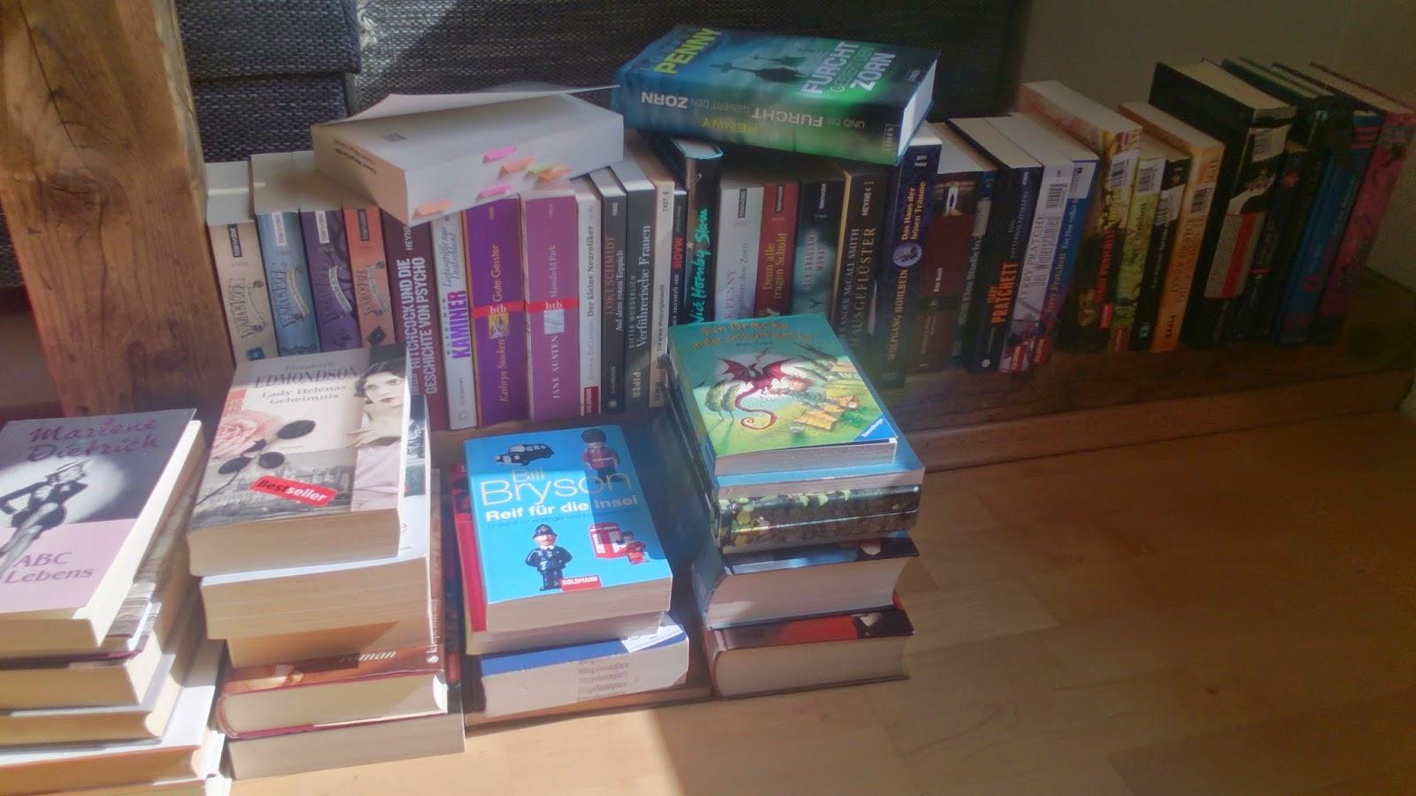 SuB, TBR, Neuzugänge, Kaufrausch, Bücher