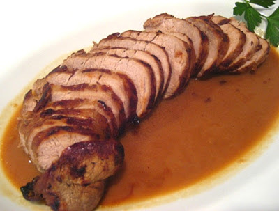 Korean Roast Pork Tenderloin