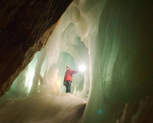 Cueva de hielo de Eisriesenwelt Austria