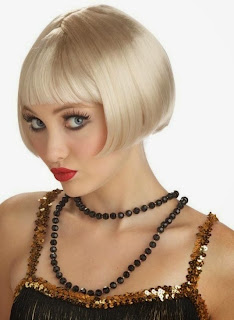 Flirty Flapper Wig – Blonde