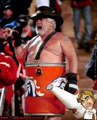 Denver Broncos Crazy NFL Fan