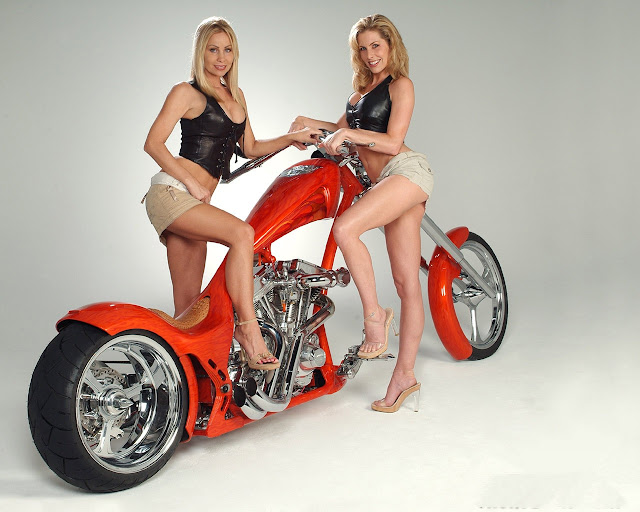 sexy beautiful babe on harley davidson motorcycle wallpaper 2 hot sexy