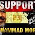 We support Muhammad Morsi