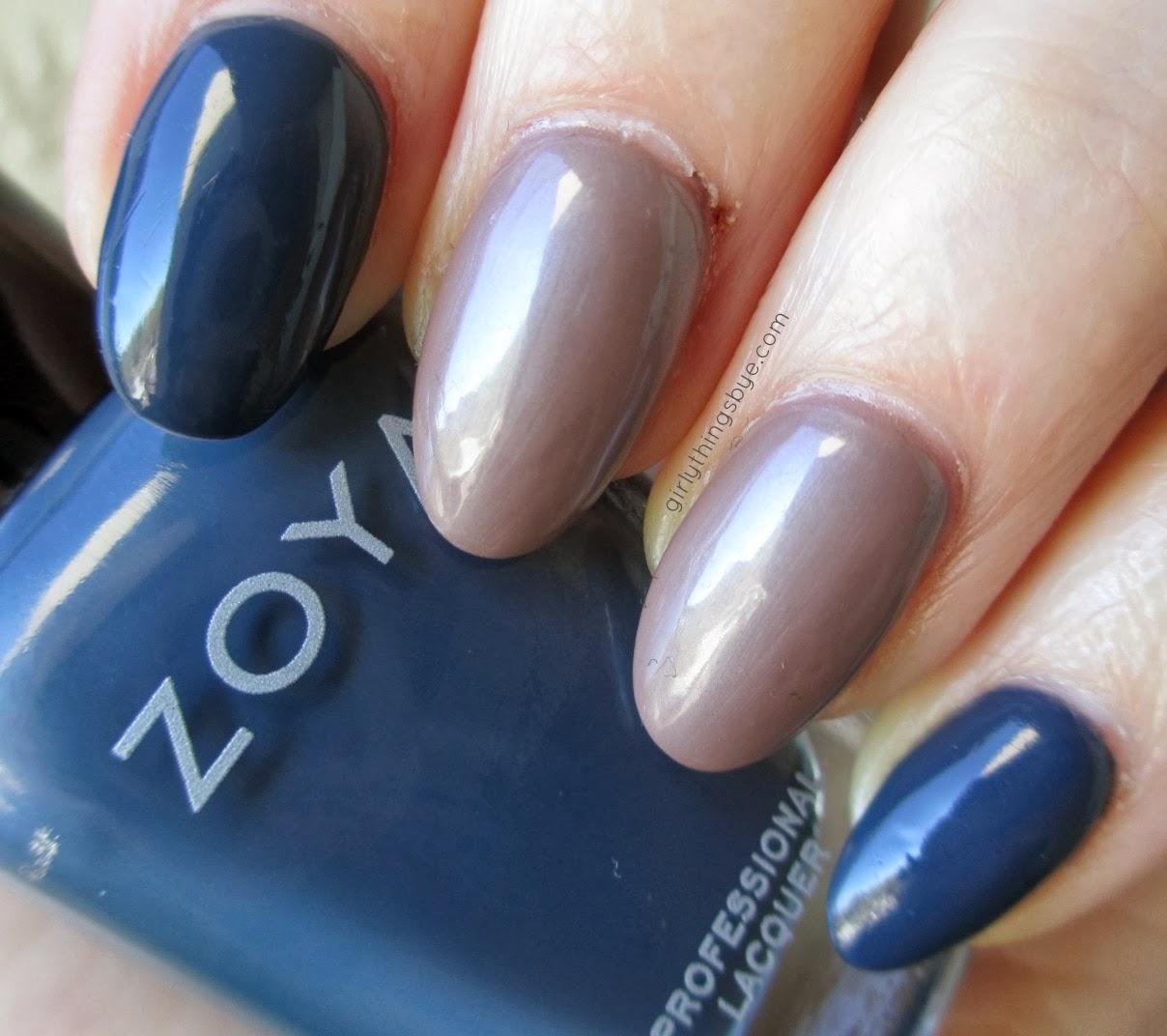 Zoya Natty, Zoya Pasha, nail polish