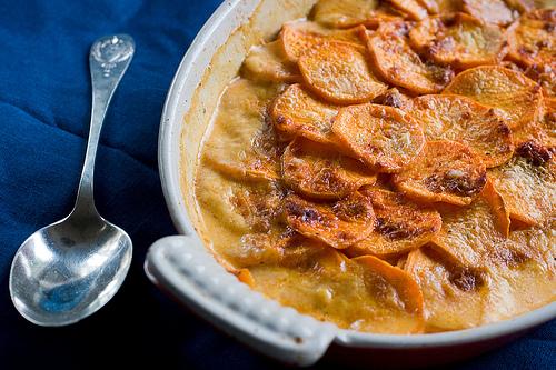 carolynn's recipe box: Spiced Sweet Potato and Goat Cheese ...