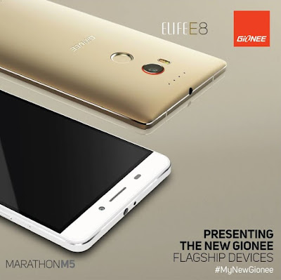 Gionee launches much-awaited flagship ELIFE E8 and Marathon M5 in Beijing