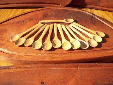 Cucharitas de madera