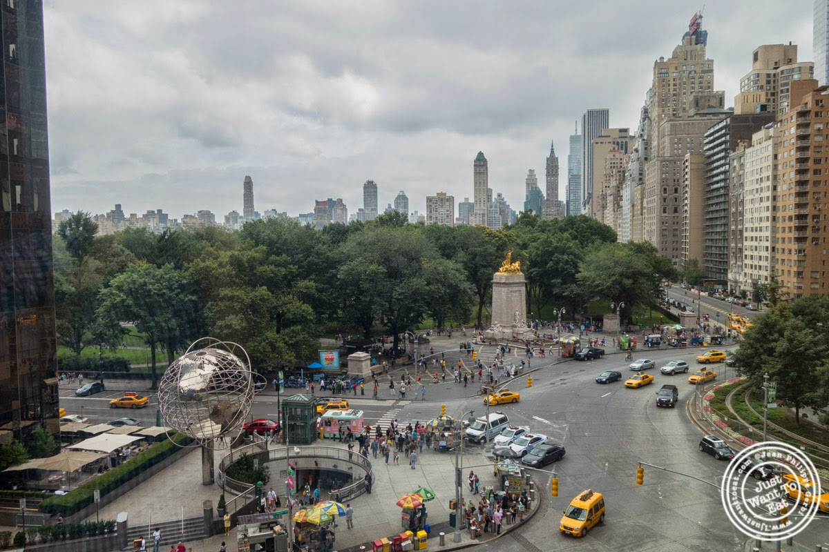 image of Columbus Circle view from Porterhouse in New York, NY