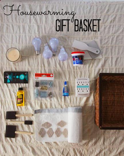 """""""housewarming gift basket"""""""