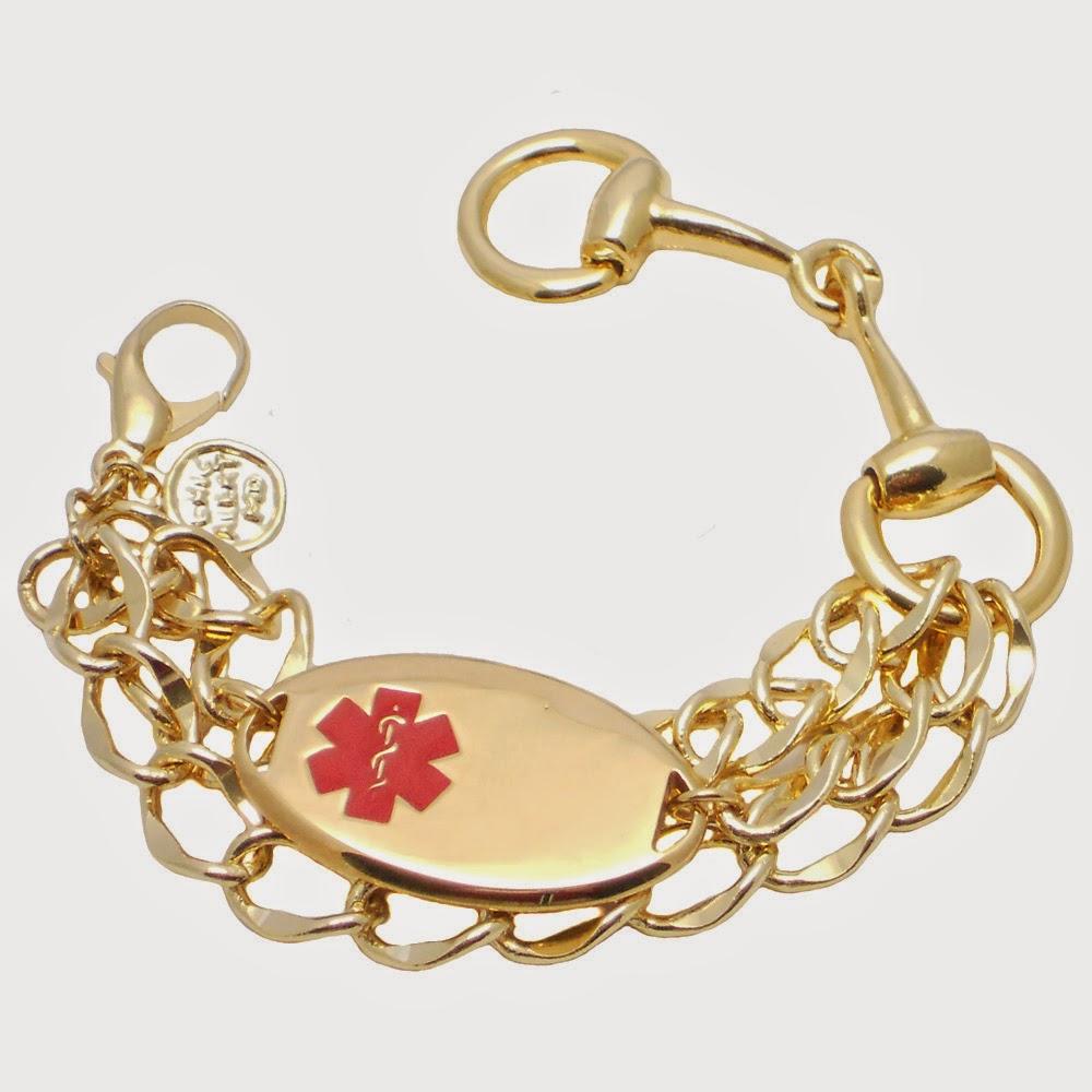 HorseBit & Chain ID Bracelet