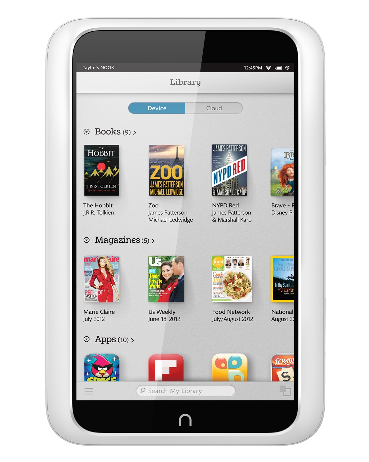 how to get kindle app on nook