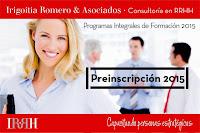 Programas de Formación 2015