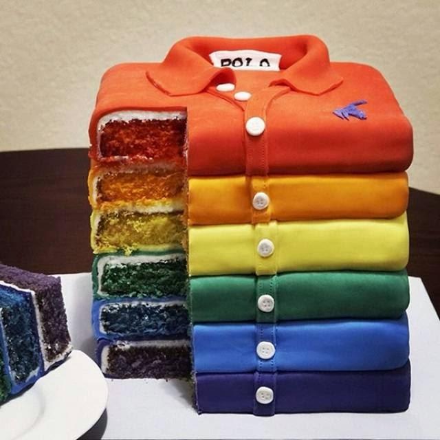 Polo Clothing Cake