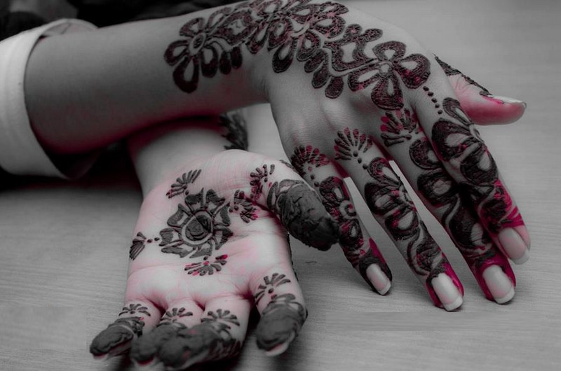 New Party Mehndi Designs : Mehndi design for hands new party bridle designs
