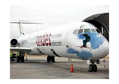 Aeronave da Andes.