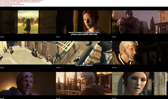 Capturas Assassins Creed Embers DVDRip Subtitulos Español Latino