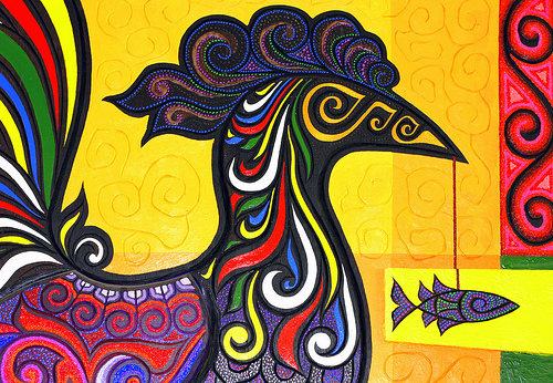 The sarimanok filipino culture by the pinoy warrior