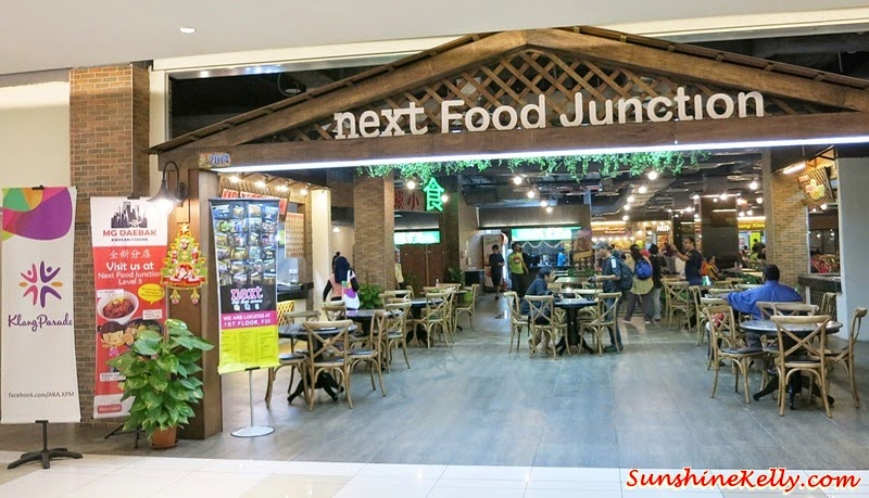 non-halal section, halal section, next Food Junction, food court, Bloggers' Day Out @ Klang Parade, Klang Parade, Shopping Mall