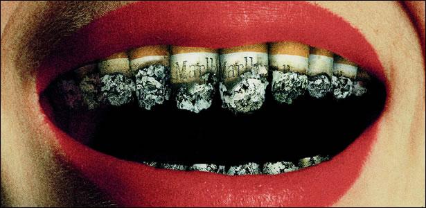 Como deixar de fumar com o humor