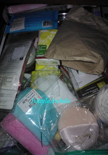 ORGANIZATION: The drawer with makeup/skin care supplies image