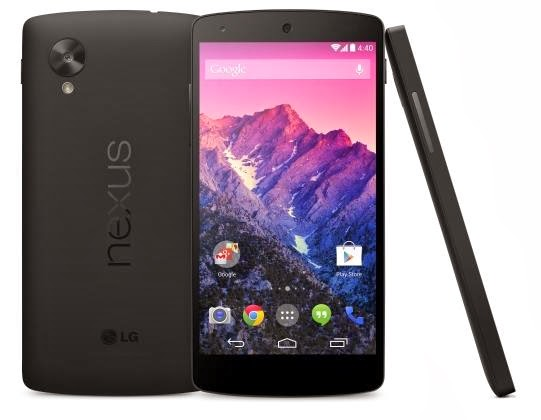 Spesifikasi dan Harga Nexus 5 Januari 2014