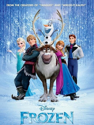 Poster Of Frozen 2013 Hindi Dubbed Movie Download In English 300MB BRRip 480P HD Dual Audio