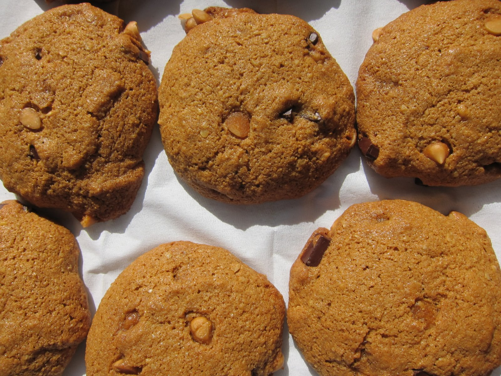 WholeFoodVegan: Butterscotch Chocolate Chunk Molasses Cookies