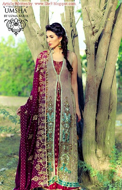 Umsha By Uzma Babar Winter-Fall 2014 Bridal Wear