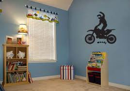 Unique Motocross Bedroom Decor