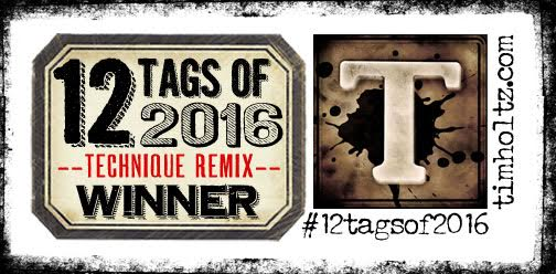 12 Tags of 2016 - Winner!