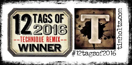 12 Tags of 2016 - Winner!
