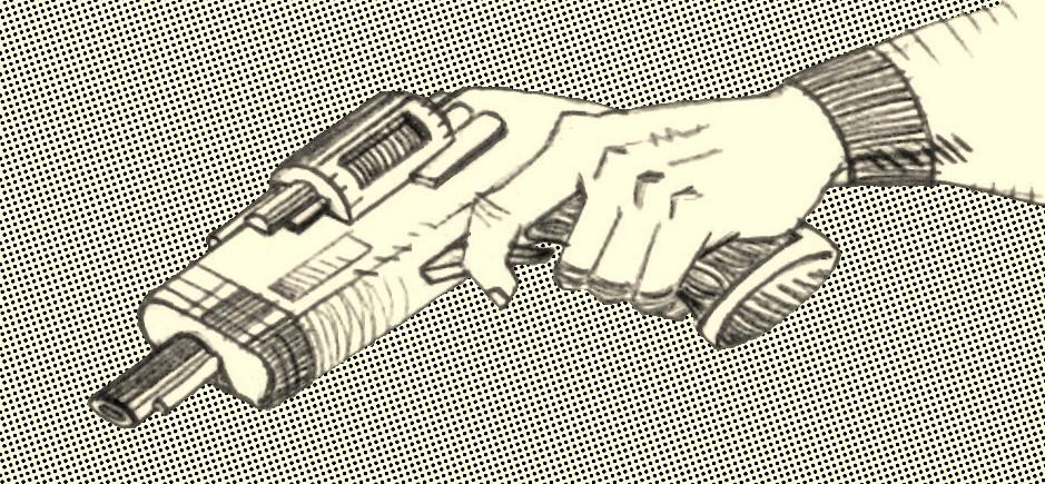 Lapiz y bits dibujar manos - Pistola para lacar ...