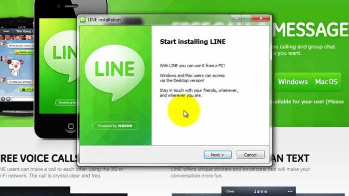 Cara Mendaftar Akun Line di PC gambar 2