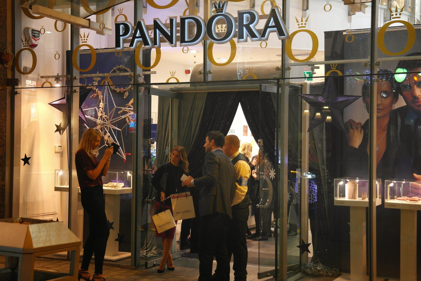 Pandora VIP event in Leeds