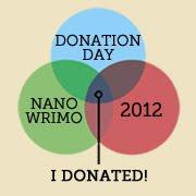 NaNo Donation 2012