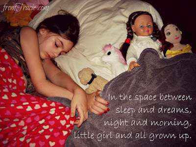In the space between little girl and all grown up