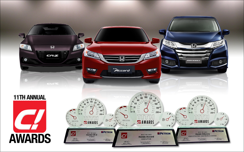 Honda Bags Triple Win at the 11th Annual C! Awards