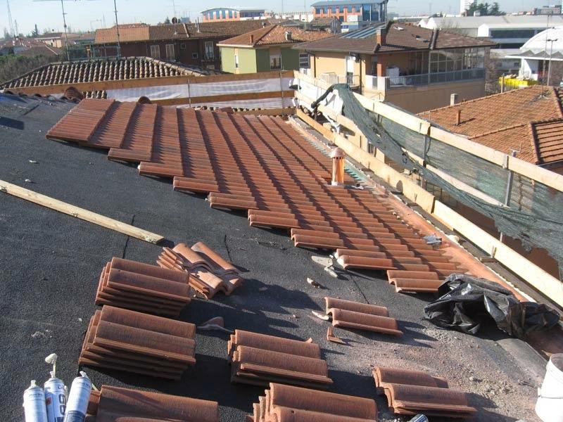 impermeabilizzazione di tetti in legno