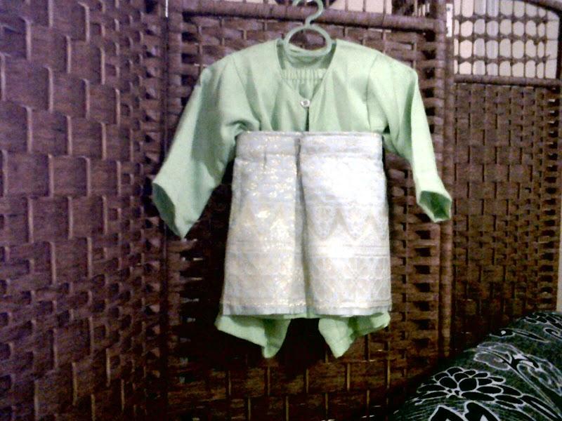 Baju Raya Baby In Da Houseee!