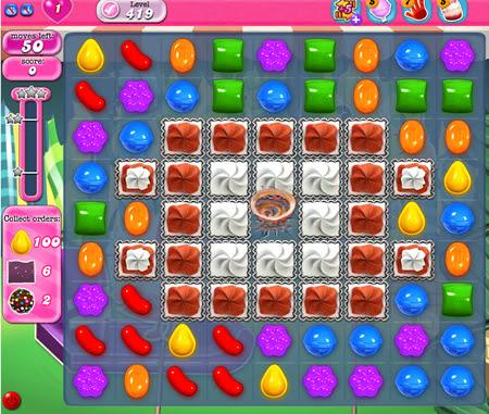 Candy Crush Saga 419