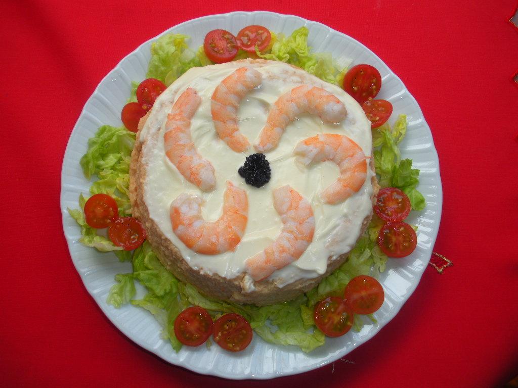 Platos y dulces pastel de pescado pastel de cabracho for Platos dulces