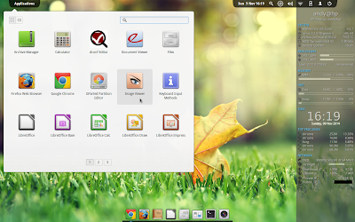 Conky Desktop (light theme)