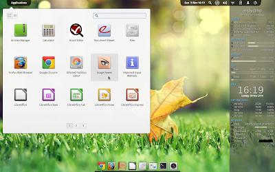 Conky Desktop (light theme)