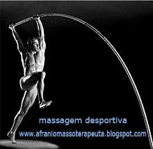 massagem desportiva, relaxante e reflexologia