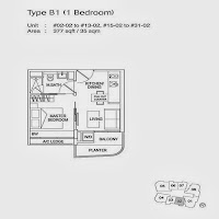 1 Bedroom Floor Plans