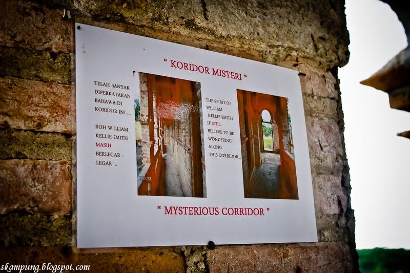 kellie's castle, misteri kellie's castle, koridor misteri