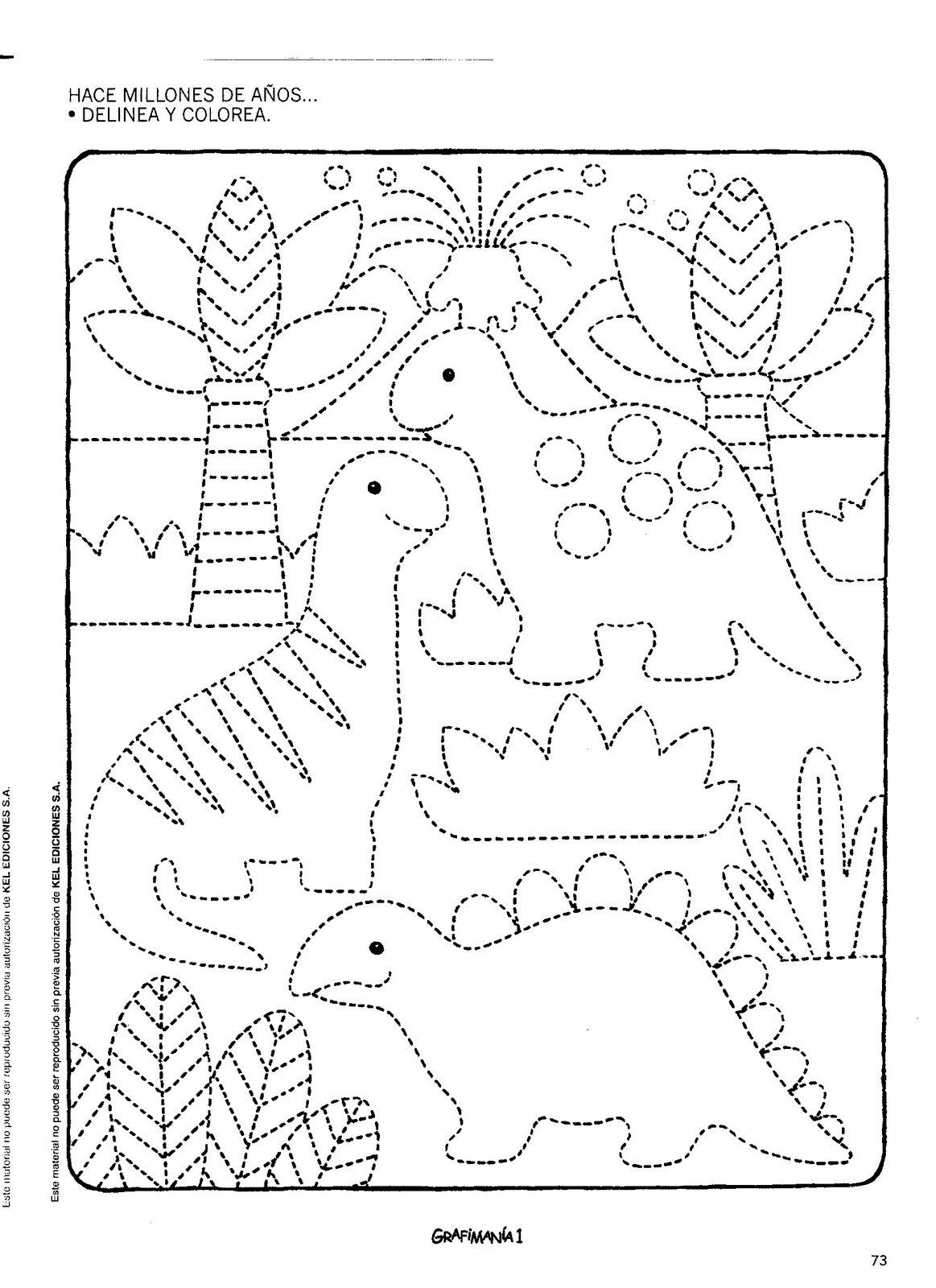 Jard n de ni os enrique pestalozzi - Mandala dinosaure ...