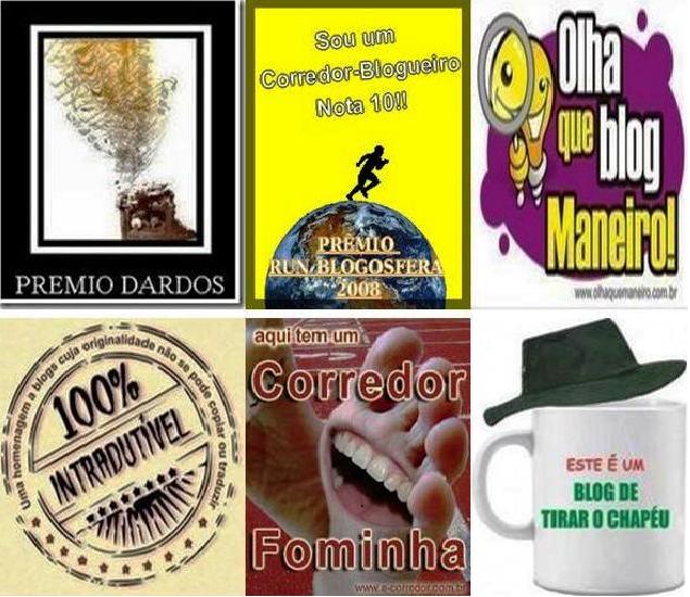 PRÊMIOS RECEBIDOS